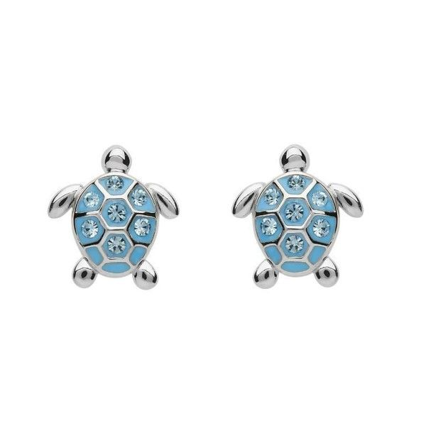 Swarovski® Crystals Turtle Earrings Dickinson Jewelers Dunkirk, MD