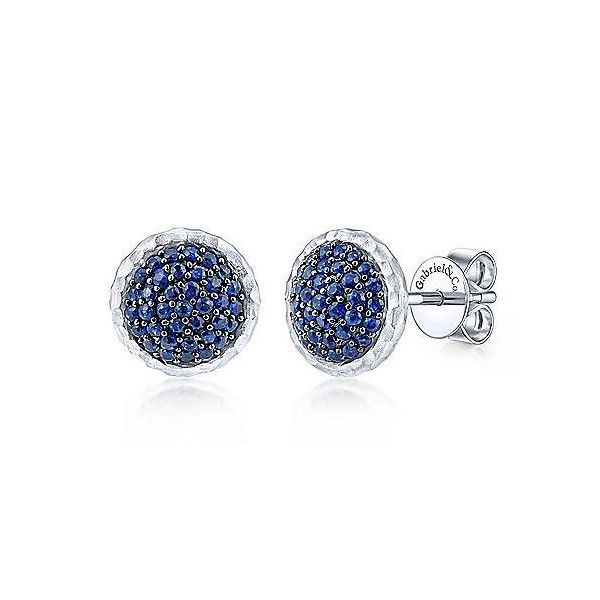 Sterling Silver Sapphire Earrings Dickinson Jewelers Dunkirk, MD