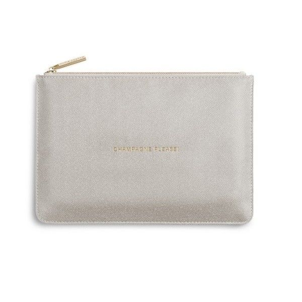 Champagne Shimmer Perfect Pouch Dickinson Jewelers Dunkirk, MD