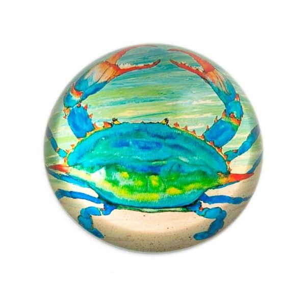 Blue Crab Paperweight Dickinson Jewelers Dunkirk, MD