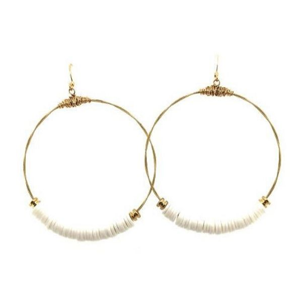Recycled Guitar String Hoop Earrings Dickinson Jewelers Dunkirk, MD