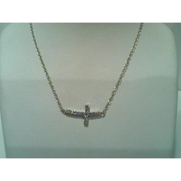 silver necklaces w/ genuine or CZ stones Discovery Jewelers Wintersville, OH