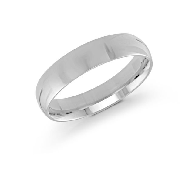 White Gold Wedding Band Doland Jewelers, Inc. Dubuque, IA