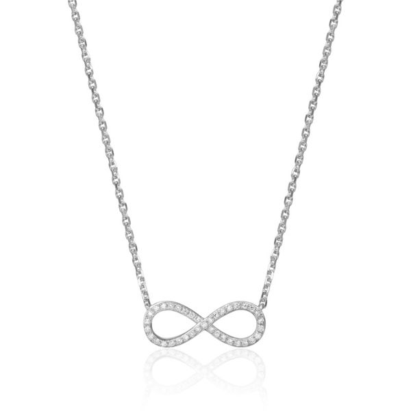 Infinity Necklace Doland Jewelers, Inc. Dubuque, IA