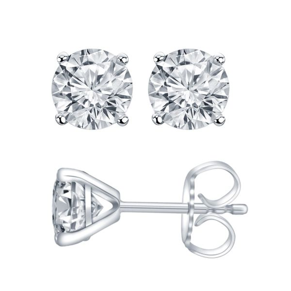 Lab Diamond Earrings Doland Jewelers, Inc. Dubuque, IA