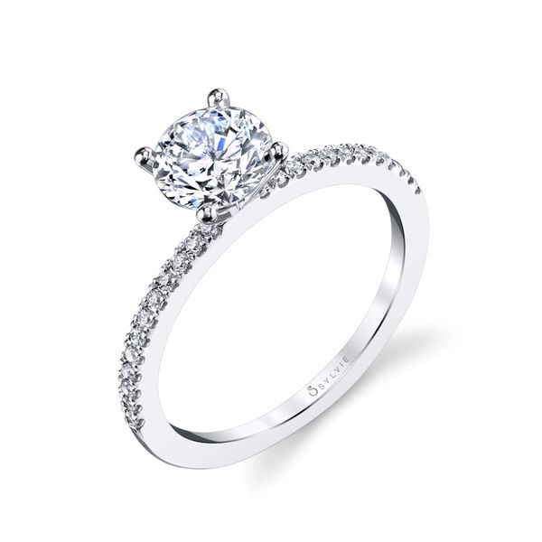 ROUND SOLITAIRE ENGAGEMENT RING Dondero's Jewelry Vineland, NJ