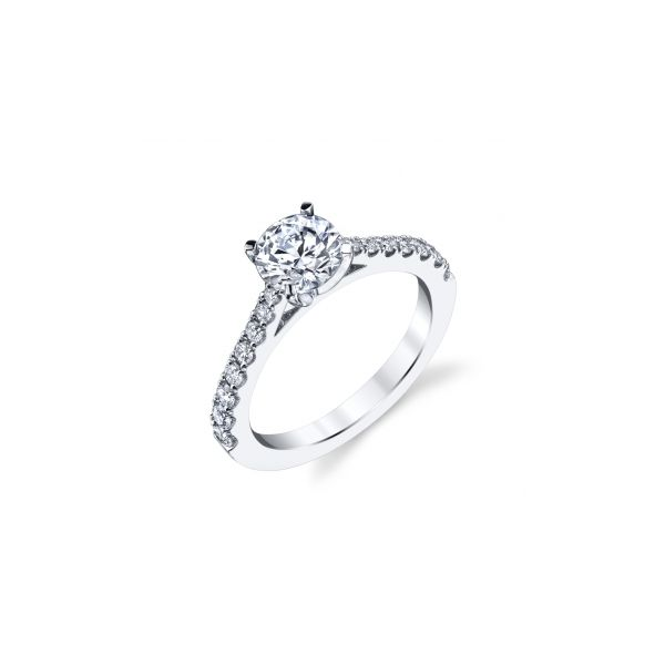 DIAMOND ENGAGEMENT RING SEMI-MOUNTING Dondero's Jewelry Vineland, NJ