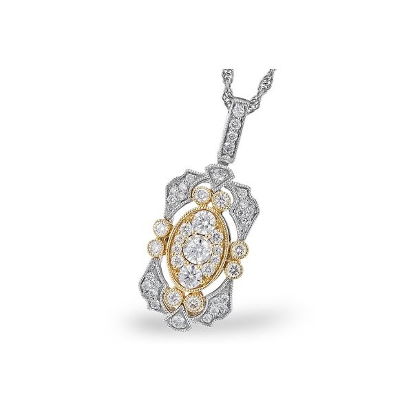 DIAMOND FASHION PENDANT/NECKLACE Dondero's Jewelry Vineland, NJ
