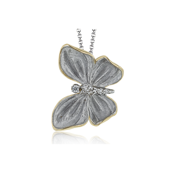 SIMON G BUTTERFLY PENDANT/NECKLACE Dondero's Jewelry Vineland, NJ