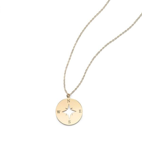 NORTH STAR DISC NECKLACE Dondero's Jewelry Vineland, NJ