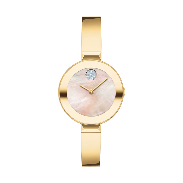 MOVADO GOLD LADIES BANGLE WATCH Dondero's Jewelry Vineland, NJ