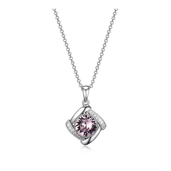 ELLE ALEXANDRITE SWAVORSKI CRYSTAL PENDANT/NECKLACE Dondero's Jewelry Vineland, NJ