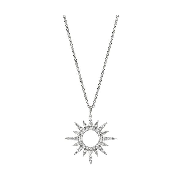 STARBURST PENDANT/NECKLACE Dondero's Jewelry Vineland, NJ