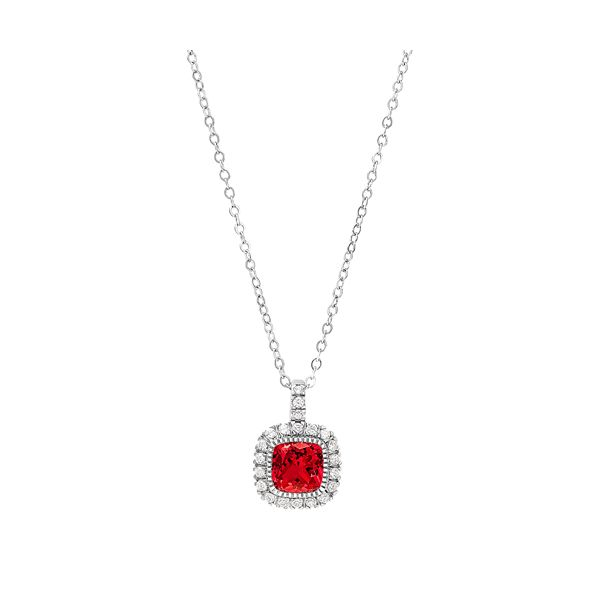 JULY BIRTHSTONE PENDANT/NECKLACE Dondero's Jewelry Vineland, NJ
