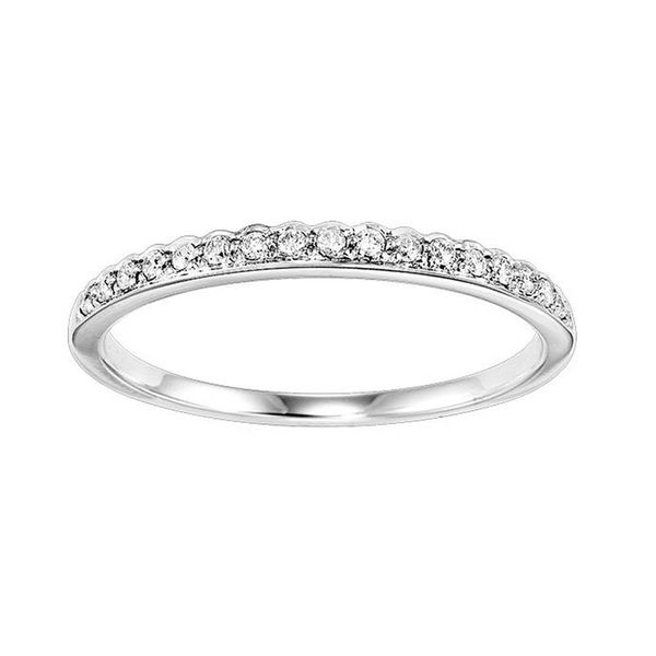 14kt White Gold Diamond Anniversary Ring Don's Jewelry & Design Washington, IA