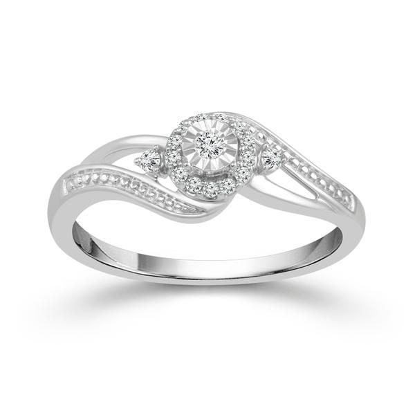 Sterling Silver Diamond Ring Don's Jewelry & Design Washington, IA