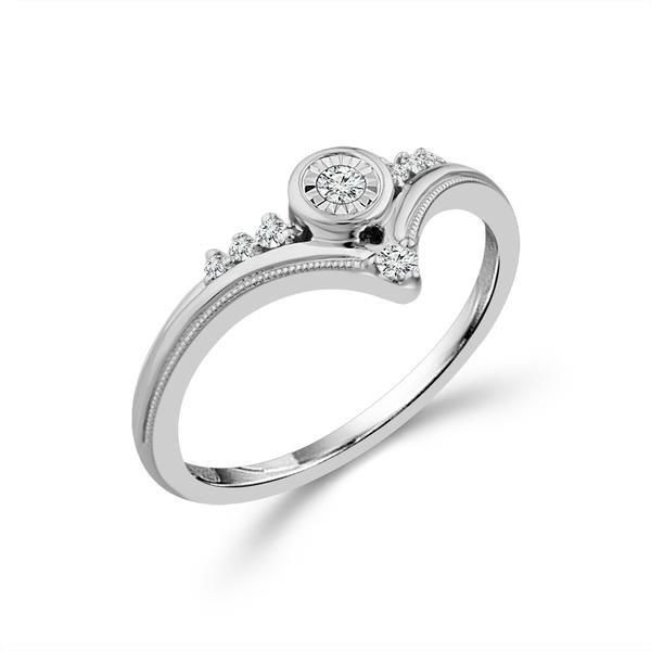 10kt White Gold Diamond Ring Don's Jewelry & Design Washington, IA