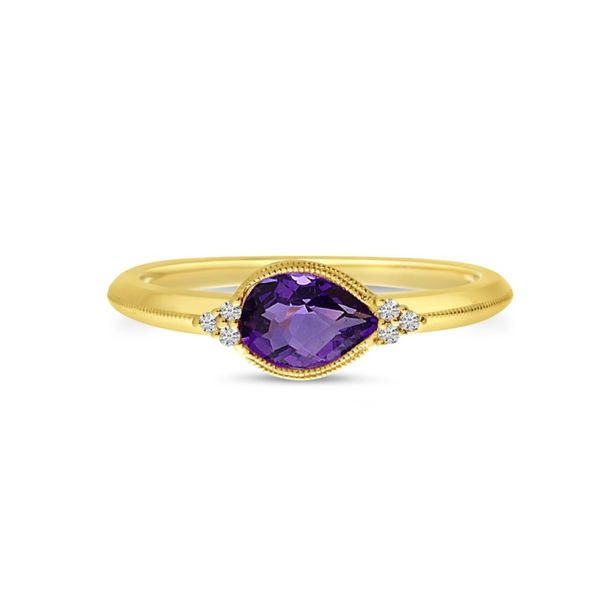 14kt  Yellow Gold Amethyst Ring Don's Jewelry & Design Washington, IA