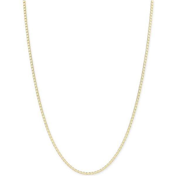14kt Yellow Gold Box Link Chain Don's Jewelry & Design Washington, IA