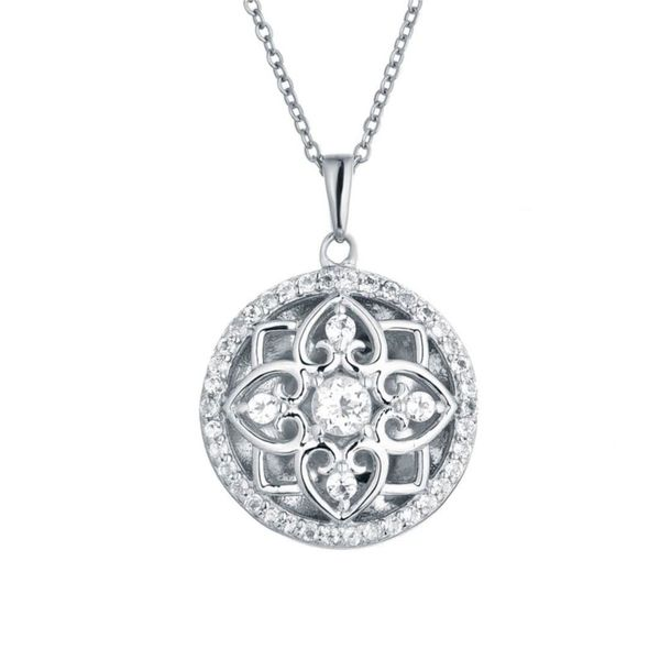 Sterling Silver Elsie Locket Necklace Don's Jewelry & Design Washington, IA
