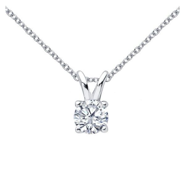 Sterling Silver Lafonn Simulated Diamond Necklace Don's Jewelry & Design Washington, IA