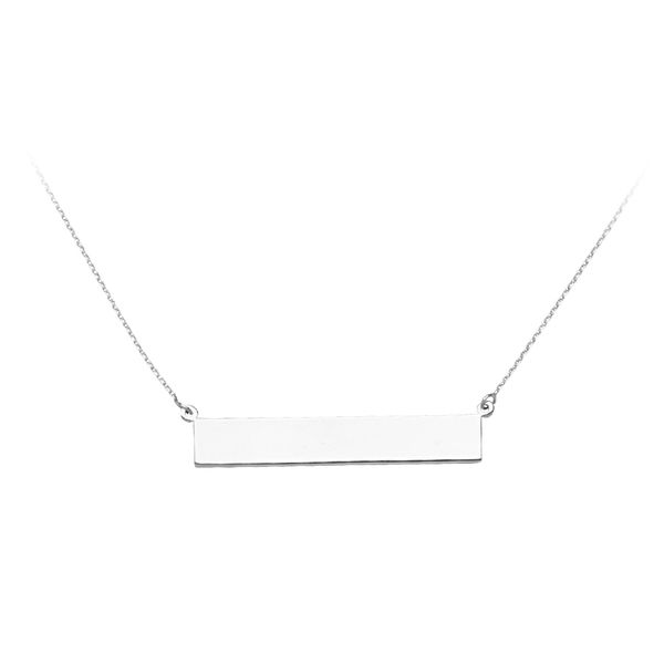 Sterling Silver Bar Necklace Don's Jewelry & Design Washington, IA