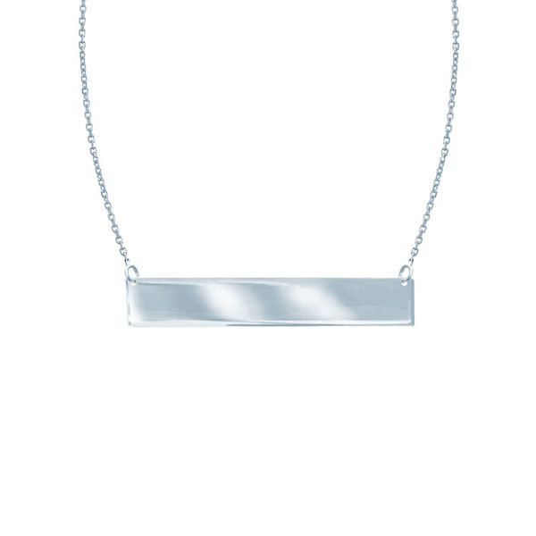 Sterling Silver Mini Bar Necklace Don's Jewelry & Design Washington, IA