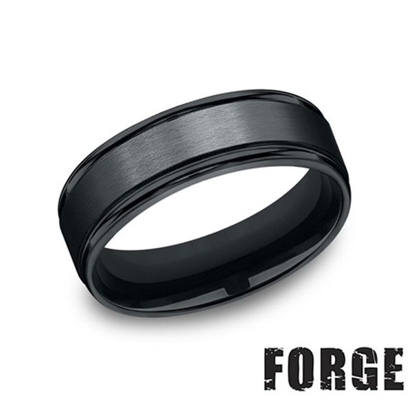 Men's 7mm Black Cobalt Ring Don's Jewelry & Design Washington, IA