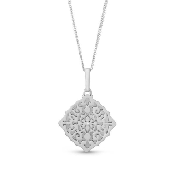 Sterling Silver and Diamond Locket Elgin's Fine Jewelry Baton Rouge, LA