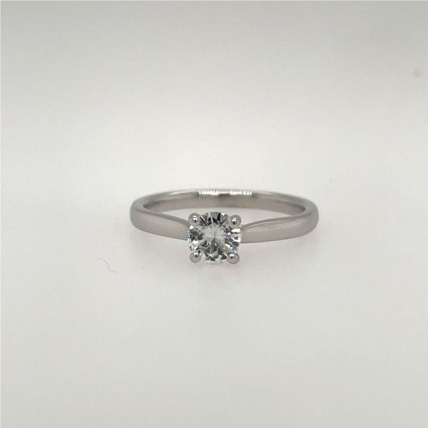 14K White Gold Princess-Cut Diamond Engagement Ring E.M. Smith Family Jewelers Chillicothe, OH