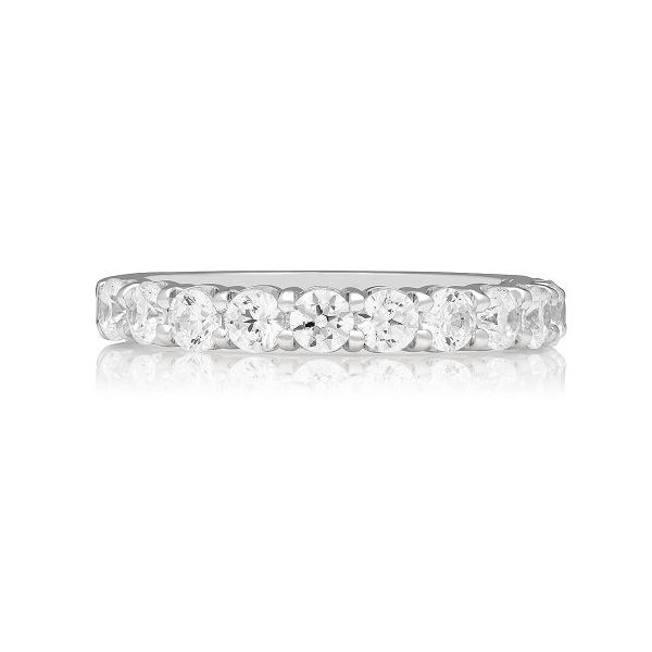14K White Gold Diamond Wedding Band E.M. Family Smith Jewelers Chillicothe, OH