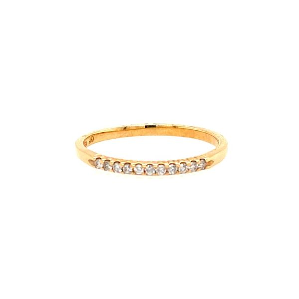 14K Yellow Gold Diamond Band E.M. Smith Family Jewelers Chillicothe, OH
