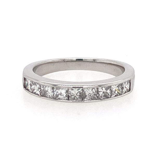 Princess Cut Diamond Channel Band E.M. Smith Family Jewelers Chillicothe, OH