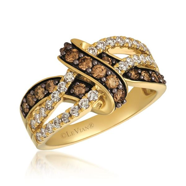 Le Vian Creme Brulee® Ring featuring Chocolate Diamonds® and Nude Diamonds™ E.M. Family Smith Jewelers Chillicothe, OH