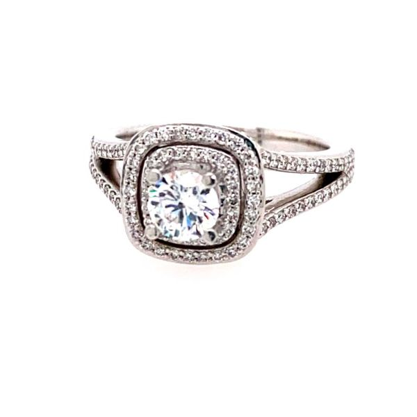 14K White Diamond Engagement Ring Semi-Mounting E.M. Family Smith Jewelers Chillicothe, OH
