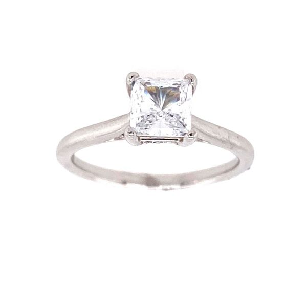 14K White Gold Diamond Engagement Ring Semi-Mounting E.M. Family Smith Jewelers Chillicothe, OH