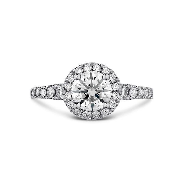 Hearts On Fire Transcend Premier Halo Engagement Ring Semi-Mounting E.M. Smith Family Jewelers Chillicothe, OH
