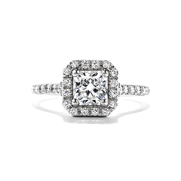 Hearts On Fire Transcend Single Halo Engagement Ring Semi-Mounting E.M. Family Smith Jewelers Chillicothe, OH