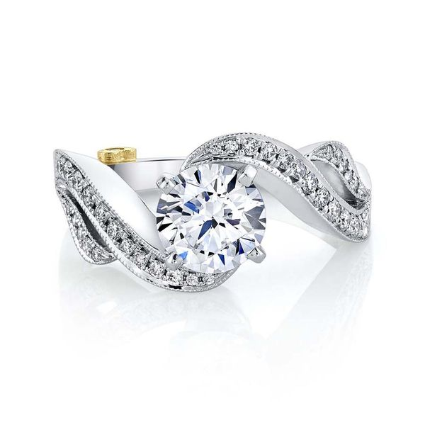 Mark Schneider Jasmine Engagement Ring Semi-Mounting E.M. Smith Family Jewelers Chillicothe, OH