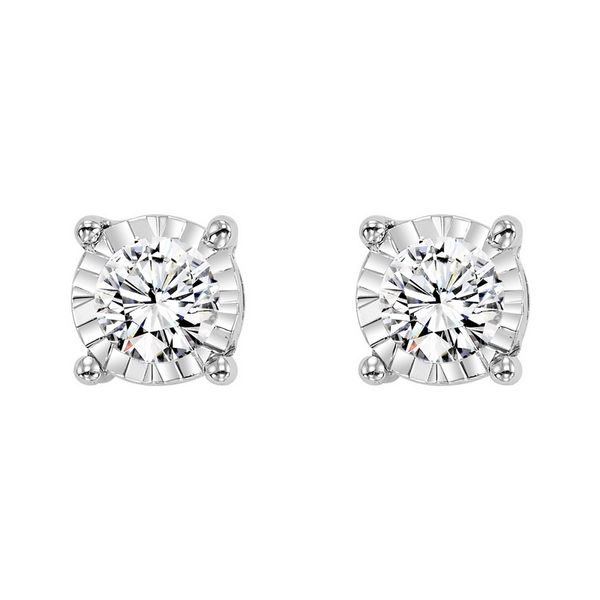 Diamond Stud Earrings E.M. Family Smith Jewelers Chillicothe, OH