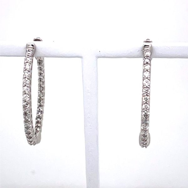 Inside-Out Diamond Hoop Earrings E.M. Family Smith Jewelers Chillicothe, OH
