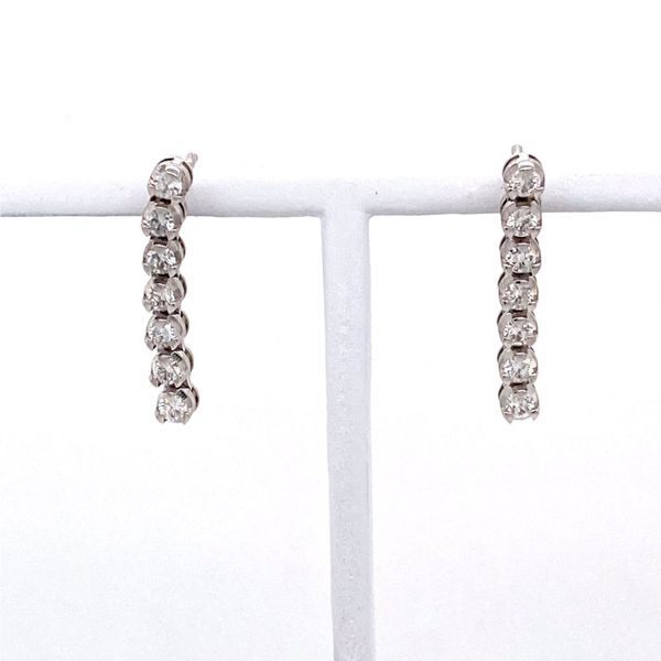 Diamond Bar Drop Earrings E.M. Family Smith Jewelers Chillicothe, OH