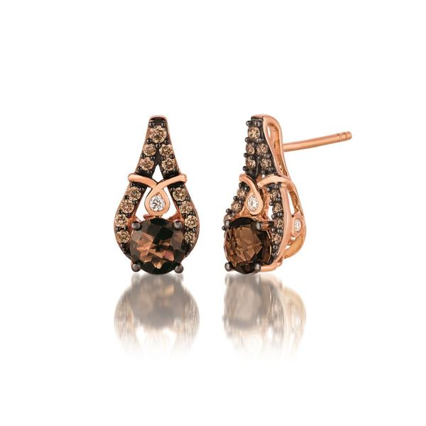 LeVian Vanilla Diamond®  | Chocolate Diamonds®  Drop Earrings E.M. Family Smith Jewelers Chillicothe, OH