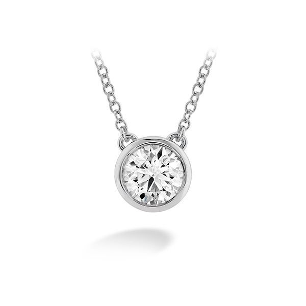 Hearts On Fire Classic Bezel Solitaire Pendant E.M. Family Smith Jewelers Chillicothe, OH