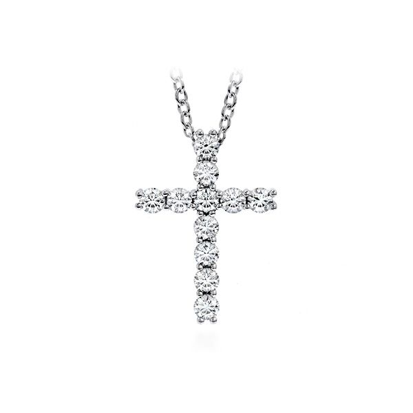 Hearts On Fire Whimsical Small Cross Pendant E.M. Family Smith Jewelers Chillicothe, OH
