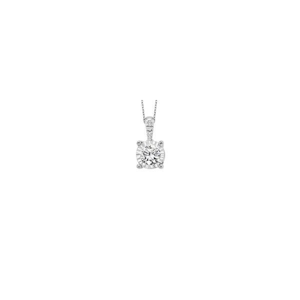 Solitaire Diamond Pendant E.M. Family Smith Jewelers Chillicothe, OH