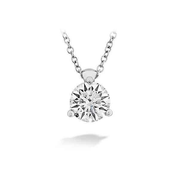 Hearts On Fire Classic 3-Prong Solitaire Pendant E.M. Smith Family Jewelers Chillicothe, OH