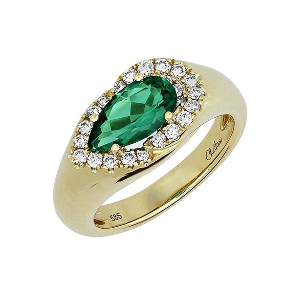 Chatham Emerald Ring E.M. Family Smith Jewelers Chillicothe, OH