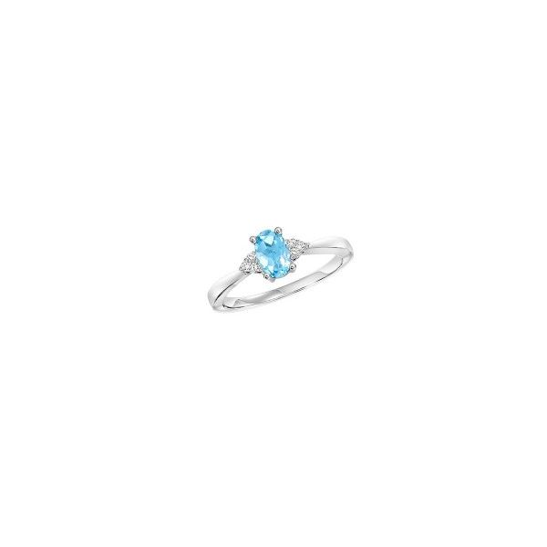 Blue Topaz & Diamond Ring E.M. Family Smith Jewelers Chillicothe, OH