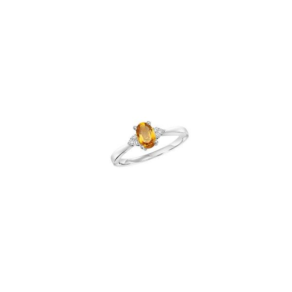 Citrine & Diamond Ring E.M. Family Smith Jewelers Chillicothe, OH